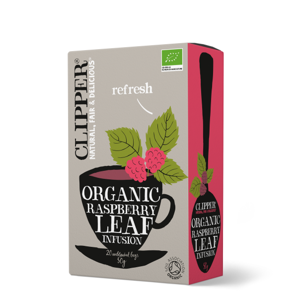 clipper raspberry leaf infusion