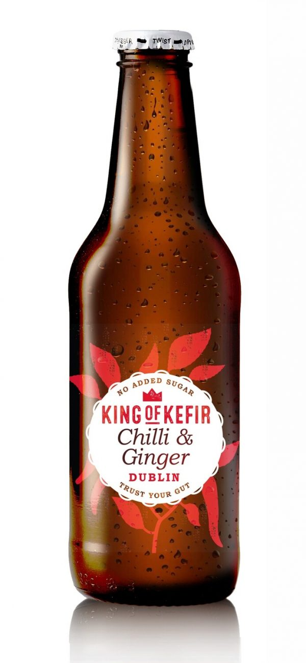 king of kefir chilli and ginger